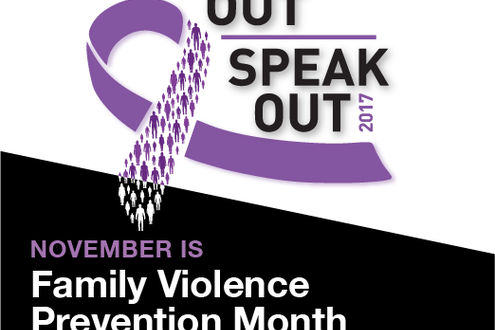 November is Family Violence Prevention Month in Alberta
